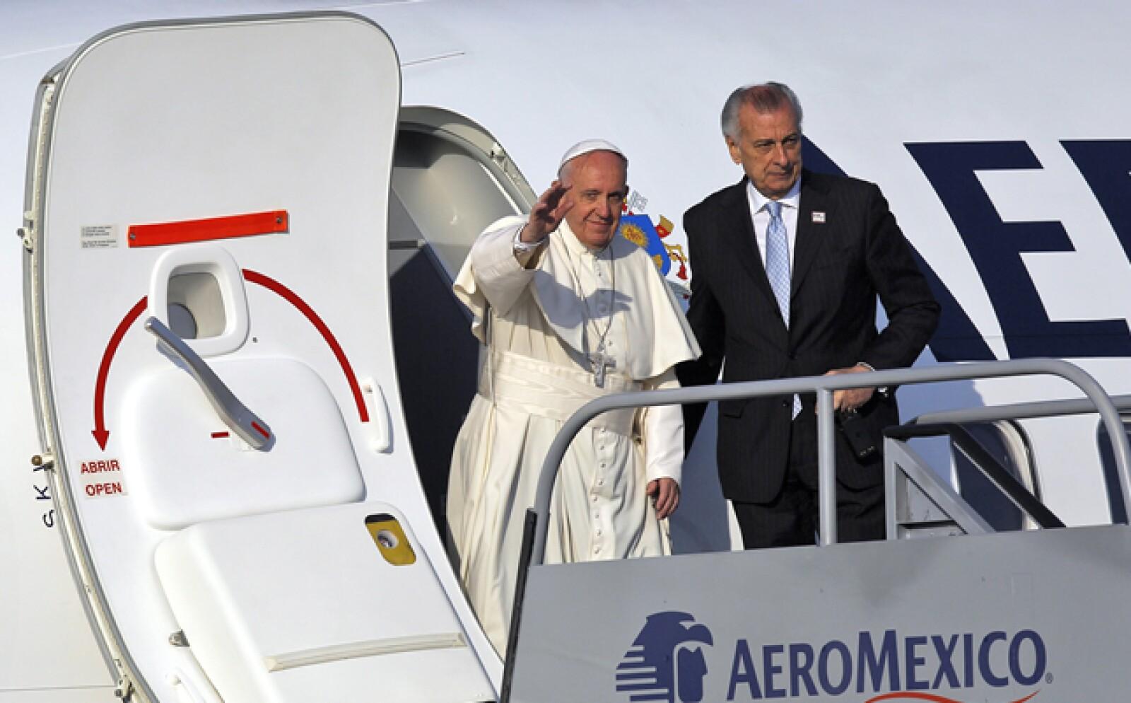 Las actividades de este martes del papa incluyen una misa con religiosos en Michoacán.
