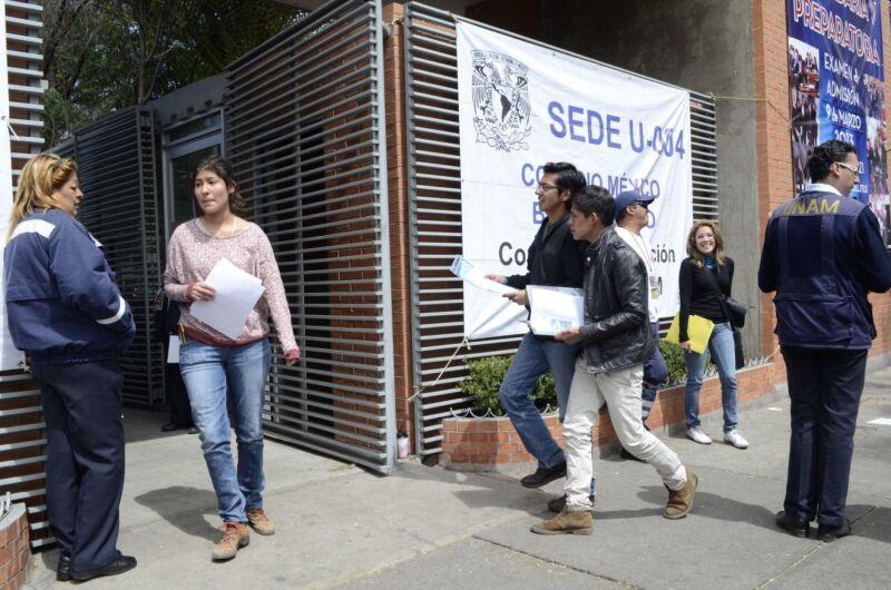 examen de admisión de la UNAM