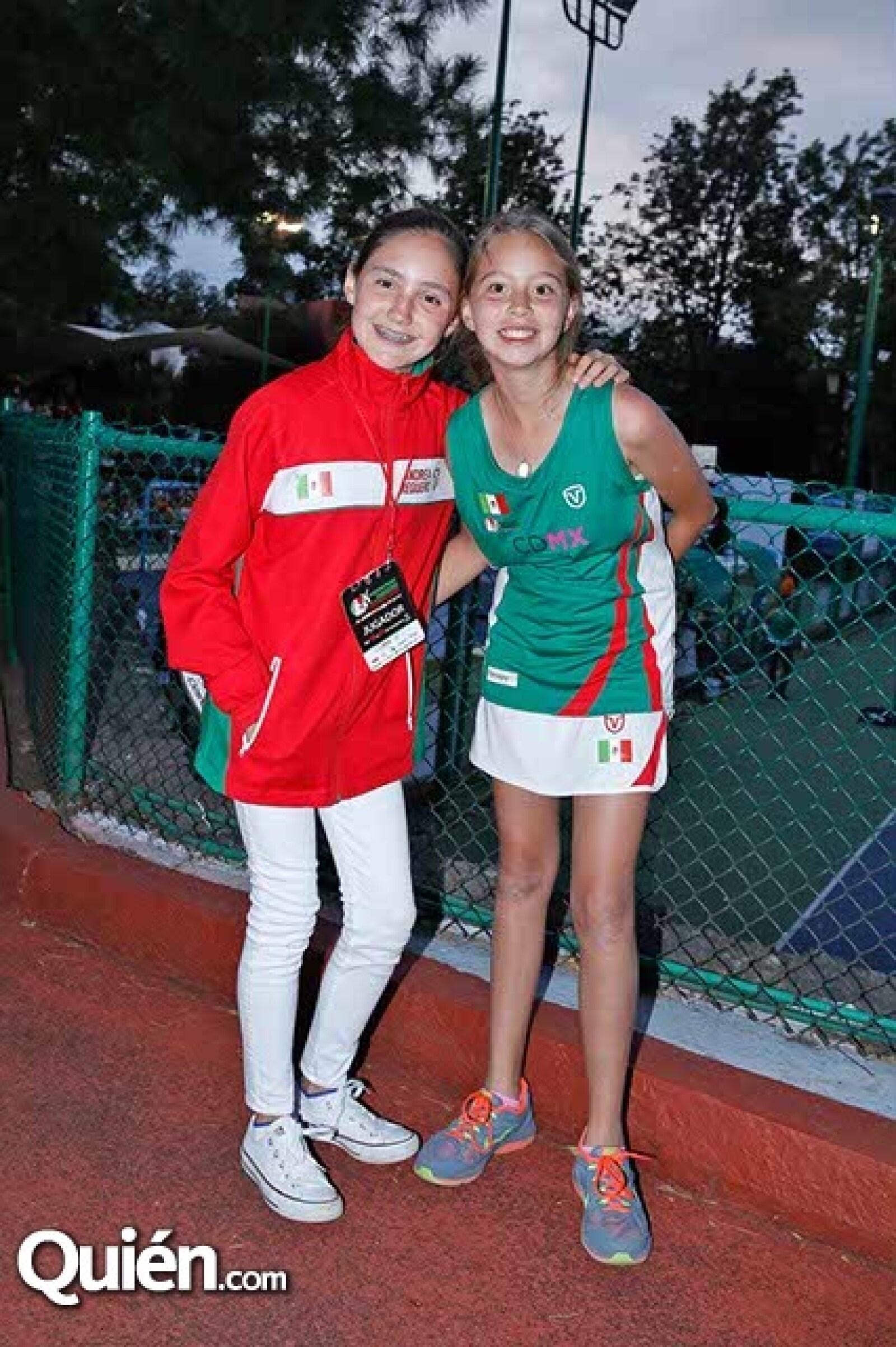 Andrea Reguero y Sofía Mena