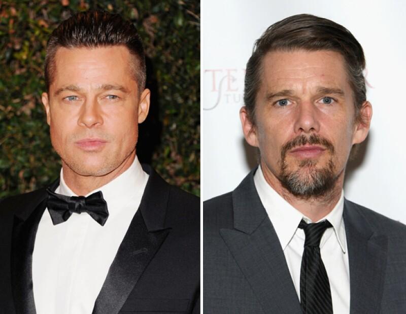 Brad Pitt con Ethan Hawke