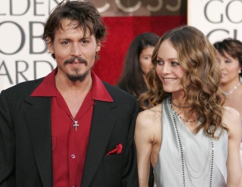 Johnny Depp y Vanessa Paradis tienen dos hijos: Lily Rose y Jack.
