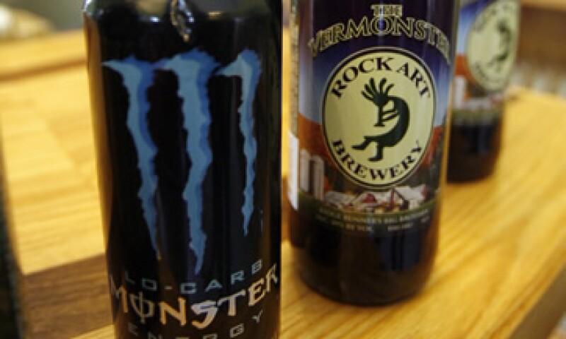 Las acciones de la productora de bebidas energéticas subían hasta un 17%. (Foto: AP)