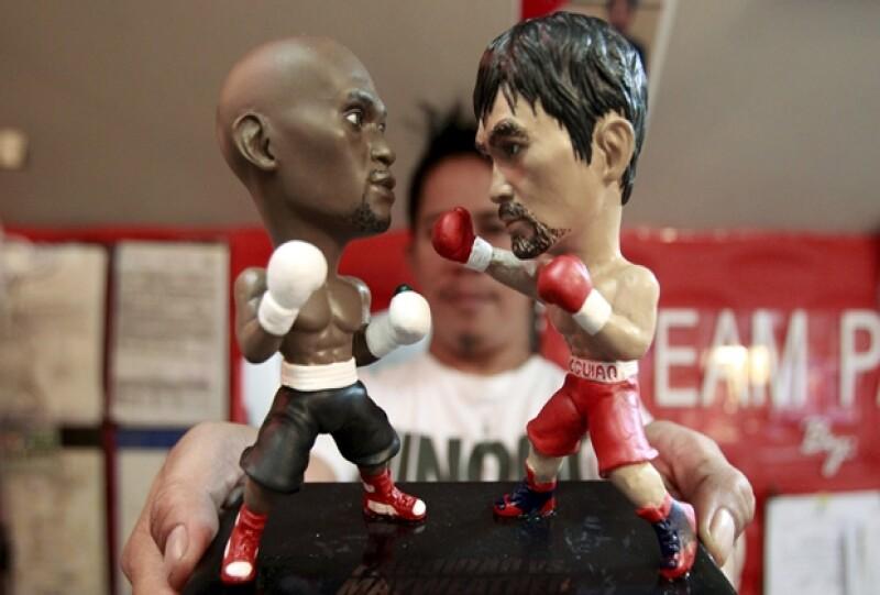 Los boxeadores se enfrentarán en el MGM Grand Garden Arena de Las Vegas, evento que seguramente estará concurrido por celebridades.