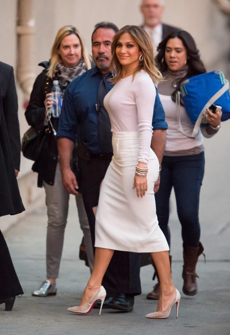 Jennifer Lopez puede decir que tiene uno de los mejores cuerpos del showbiz.