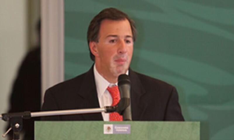 José Antonio Meade, descartó que el Gobierno considere usar la línea de crédito del FMI por 72,000 mdd. (Foto: Notimex)