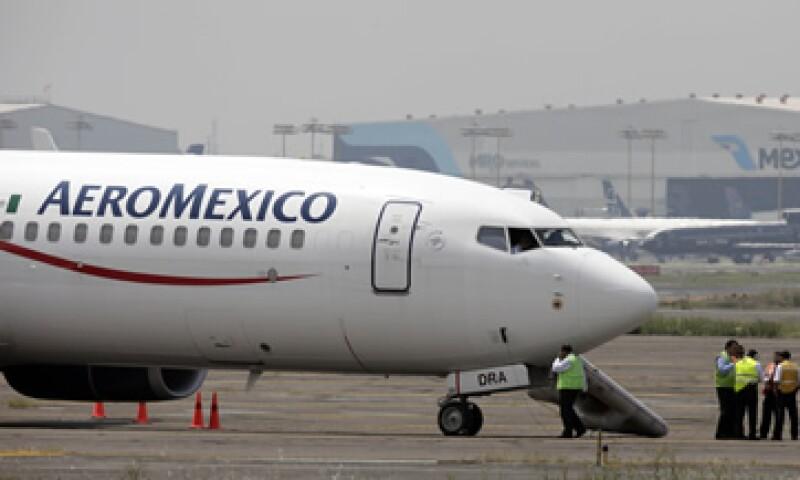 Aeroméxico dijo que seguirá trabajando para ofrecer un servicio de calidad. (Foto: AP)