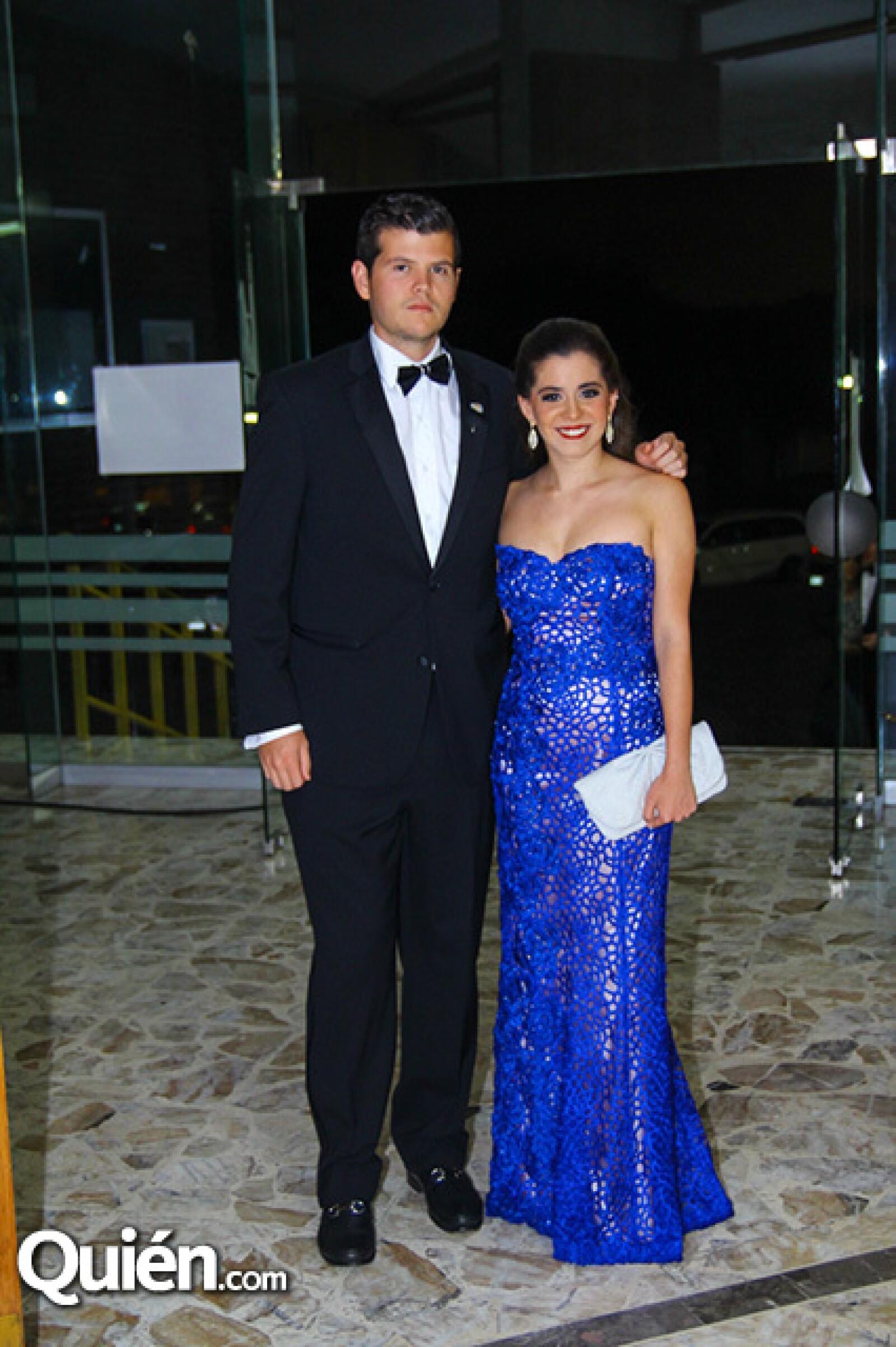 Manuel Junco y Carolina González