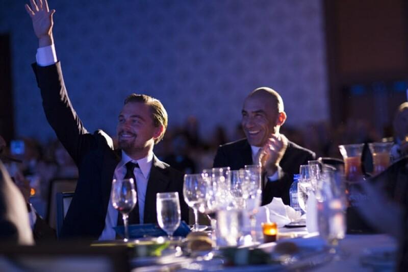Se llevó a cabo la gala benéfica de amfAR, con una recaudación de 25 millones de dólares, el actor Leonardo DiCaprio fue la estrella de la noche.