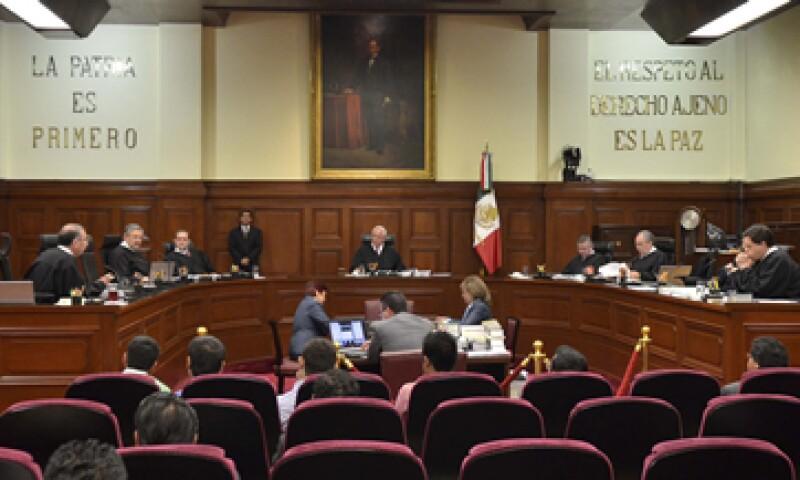 El proyecto de resolución fue aprobado por mayoría en el Pleno de la Suprema Corte. (Foto: Notimex)
