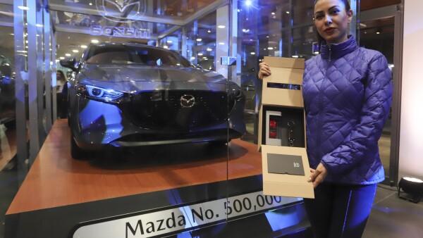 MAZDA AUTO 500,000