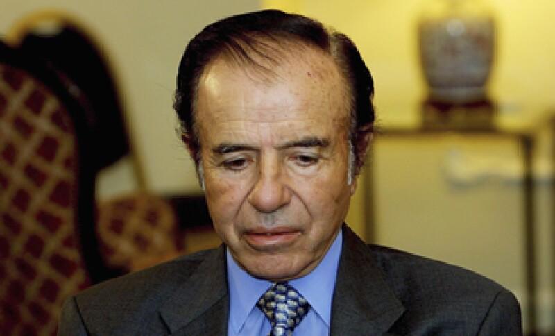 El exmandatario ya había sido condenado a prisión por la venta ilegal de armas a Ecuador y Croacia entre 1991 y 1995. (Foto: Getty Images)