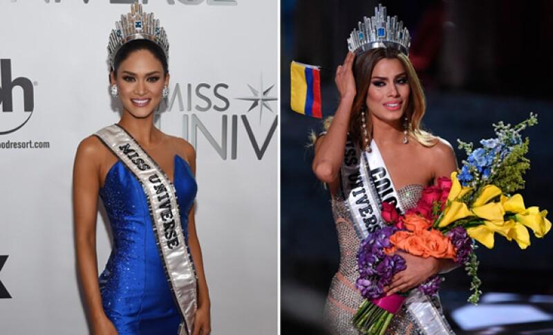 Después de vivir uno de los momentos más incómodos y vergonzosos, Ariadna Gutiérrez y Pia Alonzo reaccionaron con una publicación en la cuenta de Facebook de Miss Universo 2015.