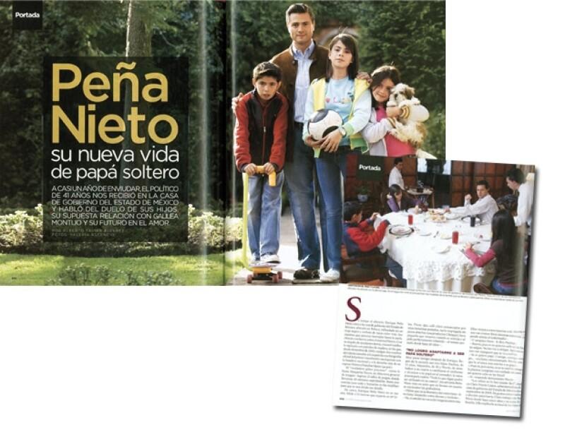 Las fotos de Enrique Peña Nieto se publicaron en la revista Quién, edición 156 (Dic. 2007). Fotos: Valeria Ascencio/Texto: Alberto Tavira. (Retoque digital: Areli Sánchez)
