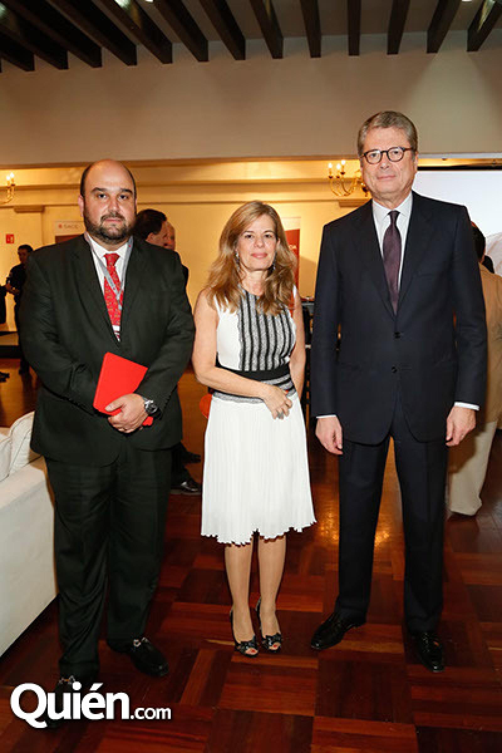Jenaro Laris,Michal Ron y Alessandro Busacca