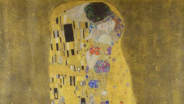 """""""El beso"""" de Gustavo Klimt"""