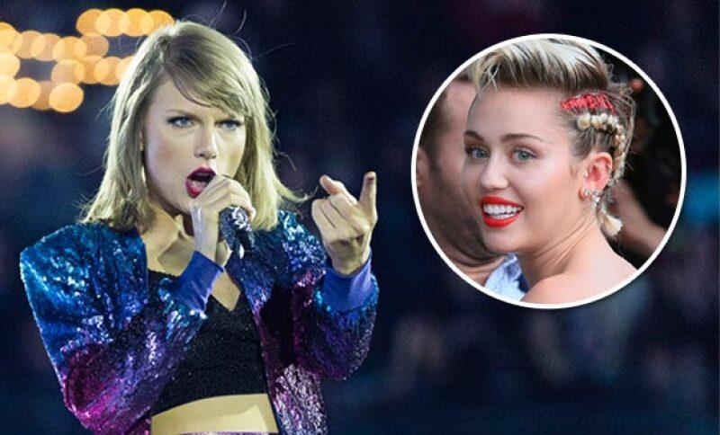 Tal parece que la cantante está enojada tras la foto que Miley subió a Instagram, en la que hace burla de ella y Justin Bieber.