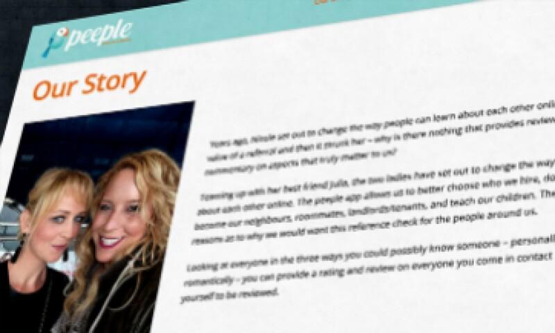 En el sitio web de Peeple surgieron publicaciones que defendieron el proyecto (Foto: Forthepeeple.com )