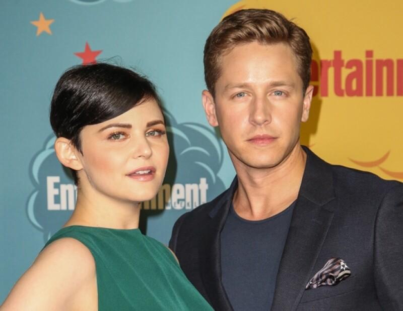 """Los actores, que son pareja en la serie """"Once Upon A Time"""", comparten al mundo el anuncio de su boda."""