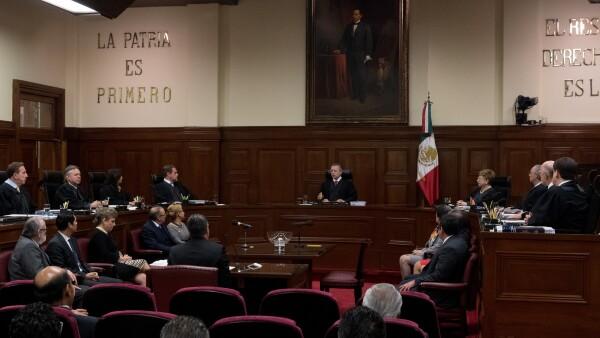 Suprema Corte SCJN ley de remuneraciones suspensión