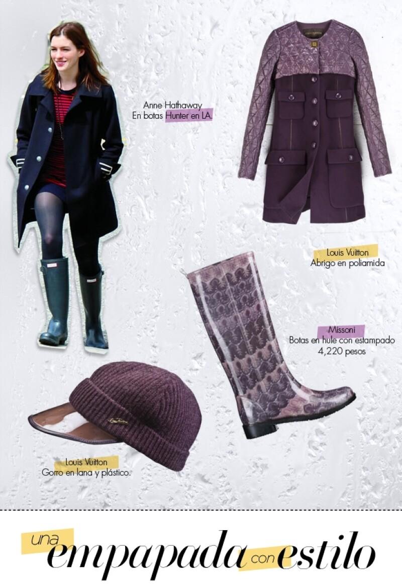 Los ponchos, abrigos y gabardinas es el momento de usarlos.