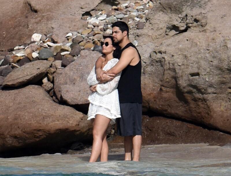 El actor y la cantante llevan ya cinco años de relación.