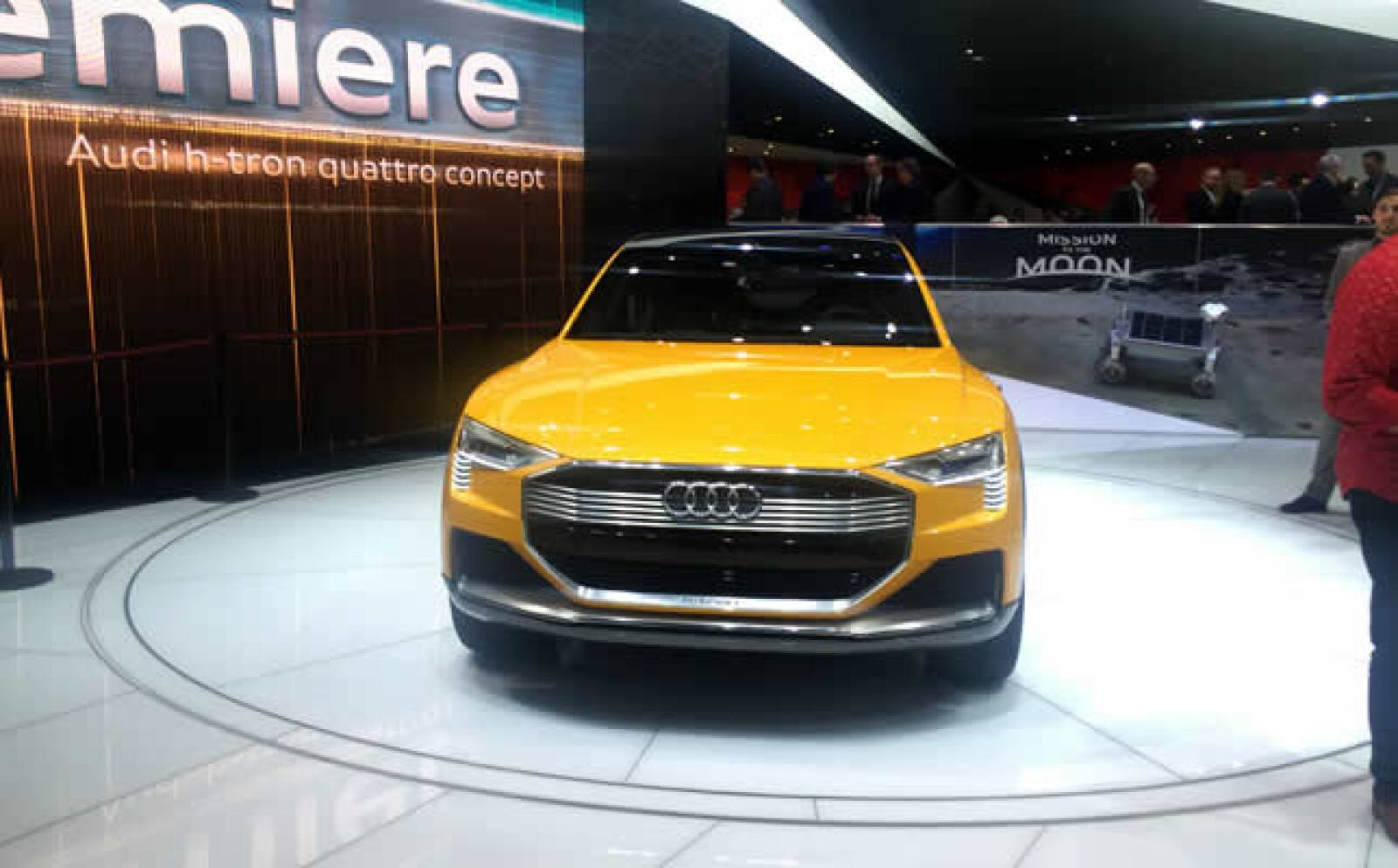 Este modelo fue presentado con una batería de hidrógeno.