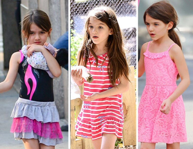 La pequeña hija de Tom Cruise y de Katie Holmes cambiará su forma de vestir por una más conservadora.