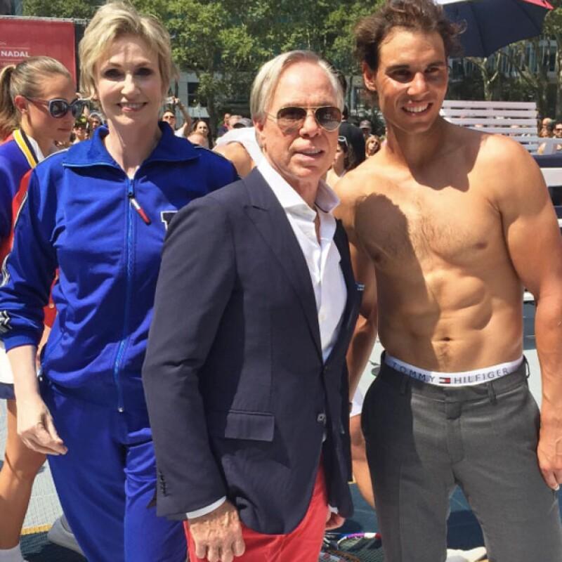 El video del tenista español para anunciar la nueva línea de ropa interior de la marca se dio a conocer hoy, antes de que se le nombrara la nueva cara de la marca… ¡y el cuerpo!