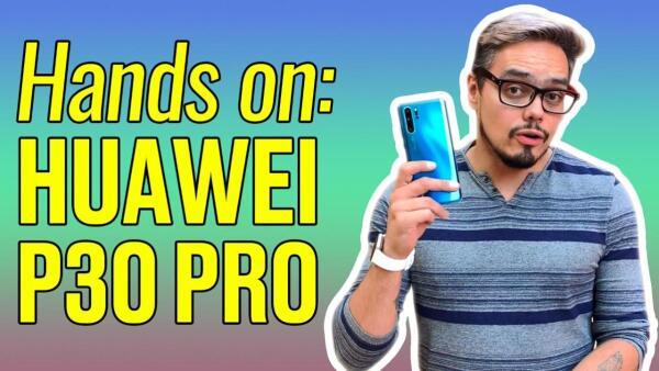 Así es el nuevo hijo de Huawei, el P30 Pro