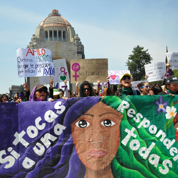 MEXICO-WOMEN'S DAY-8MARCH