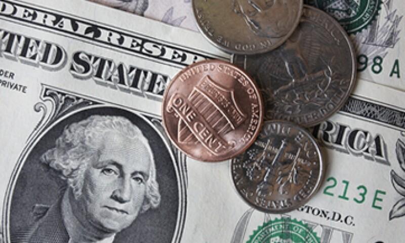 La publicación de las cifras de crecimiento en EU impulsó la cotización del dólar. (Foto: Getty Images)