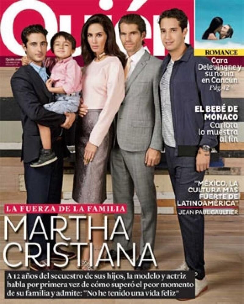 La revista Quién tiene en exclusiva la historia del secuestro de los hijos de la modelo y actriz. Entérate de más contenidos en este número.