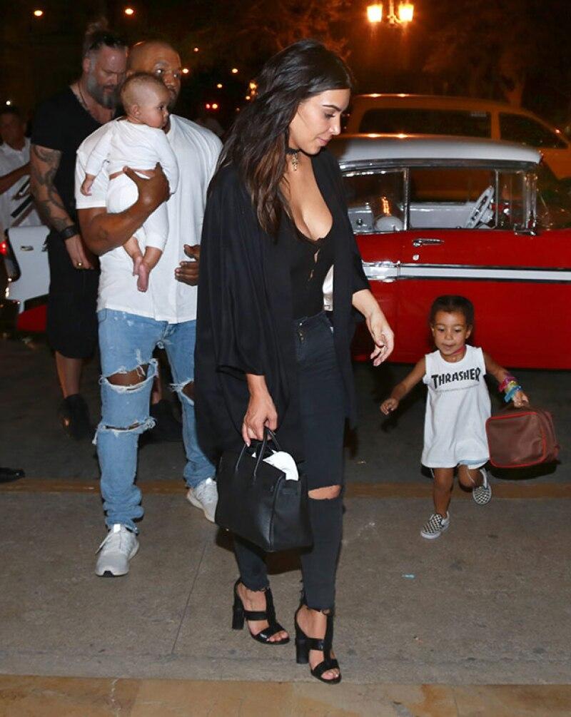 La familia estuvo en Cuba para grabar algunos episodios de Keeping Up With The Kardashians.
