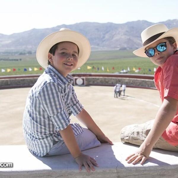 Alejandro Argüelles y Francisco Septién