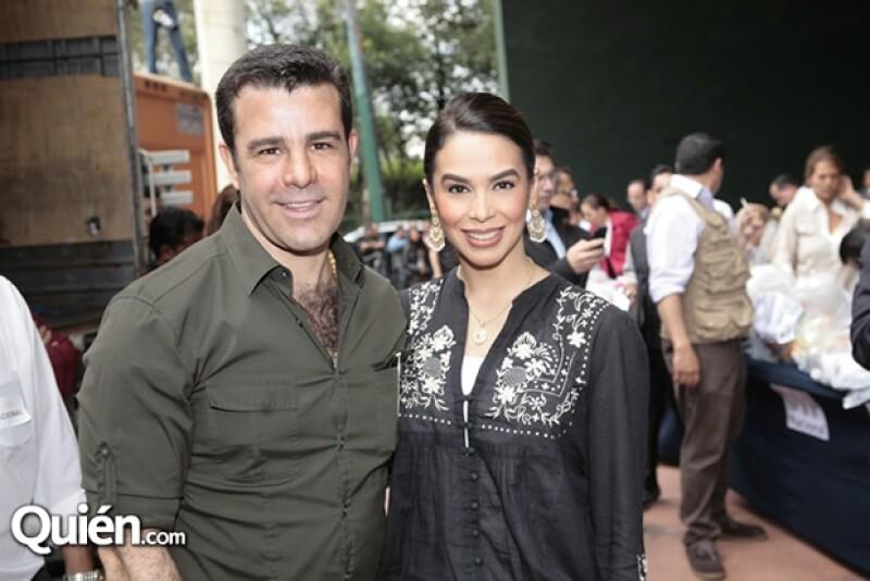 Eduardo Capetillo y Bibi Gaytán.