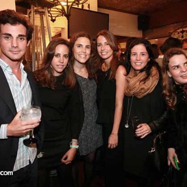 Guillermo Cifuentes,Ana Nuño,Mariana Casanova,Ana Bravo,Marilú Hinojosa y Rocío Sáenz