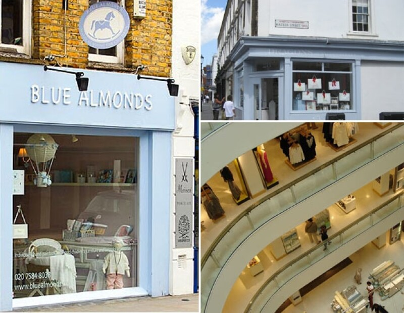 Blue Almonds, Dragons of Walton Street y Peter Jones, son algunas tiendas que ha visitado.