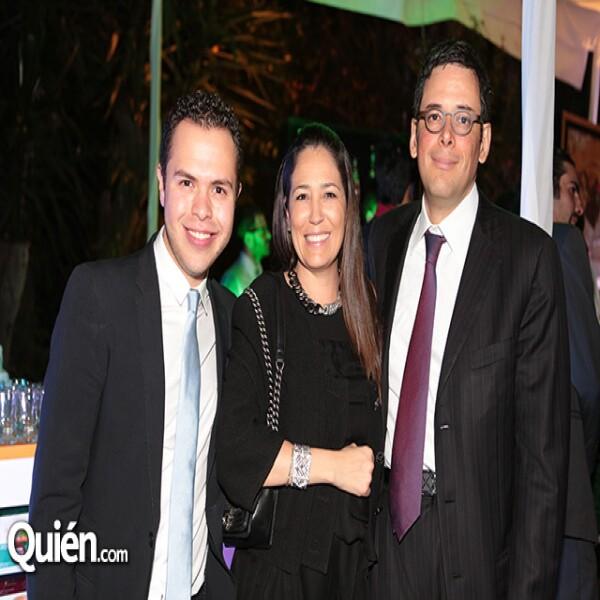 Mauricio Berber,Ivette Lagos,Adolfo Murat