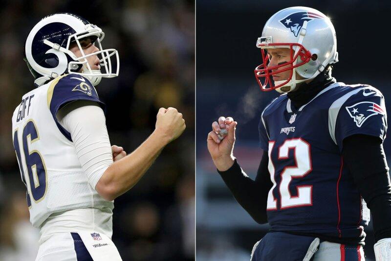 Patriots vs Rams