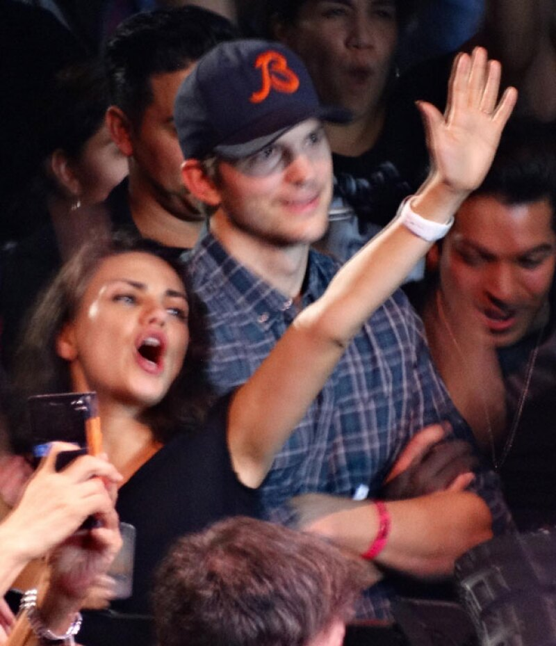 La pareja dejó a la pequeña Wyatt en casa para asistir al concierto de Madonna en Los Ángeles.