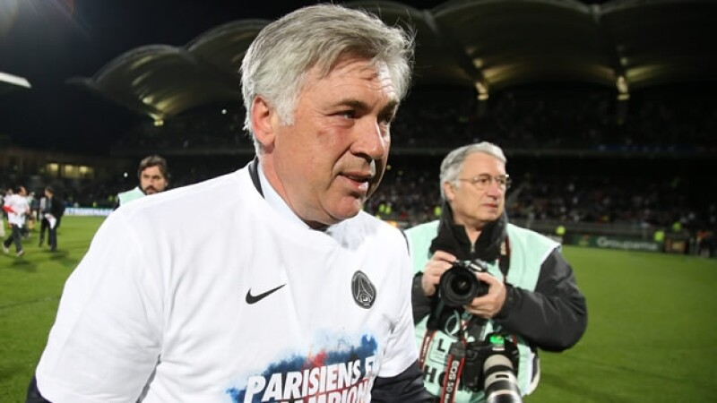 carlo ancelotti paris saint germain