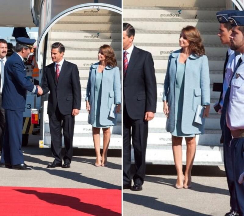 La primera dama de México volvió a acertar con su look.