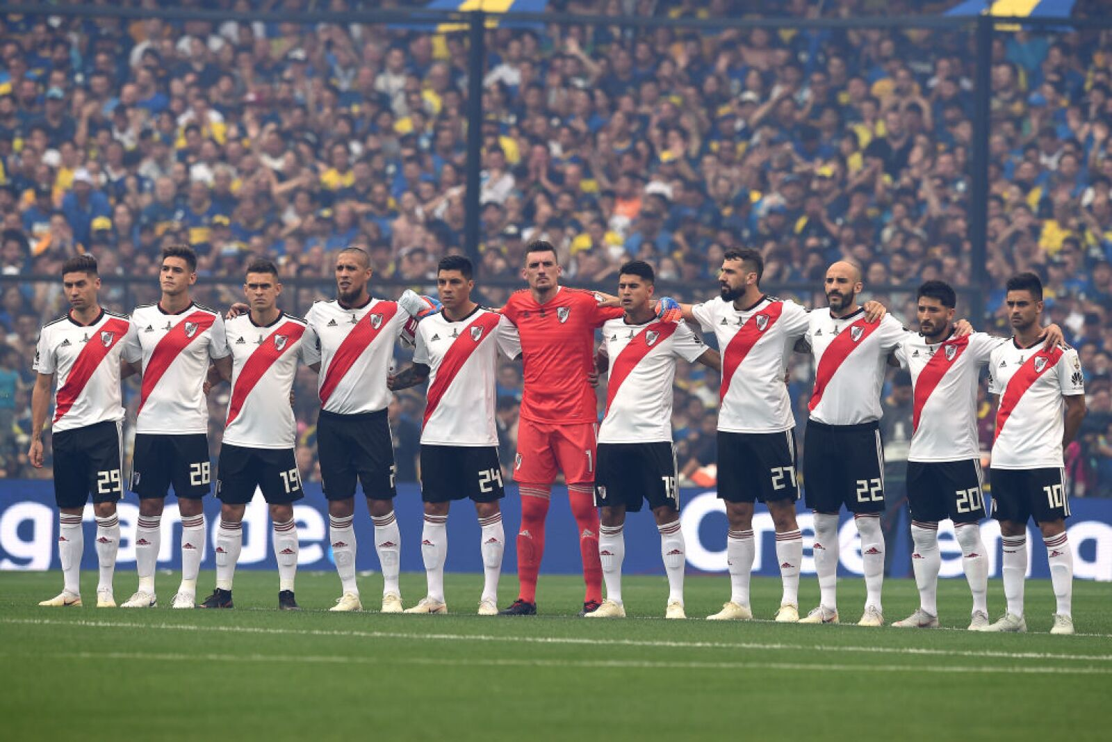 Afición de Boca Juniors y River Plate