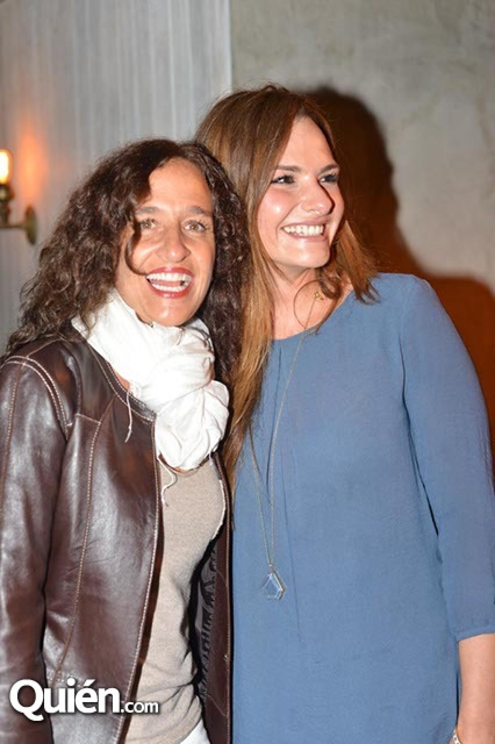 Mariana Braun y Alejandra Cano.