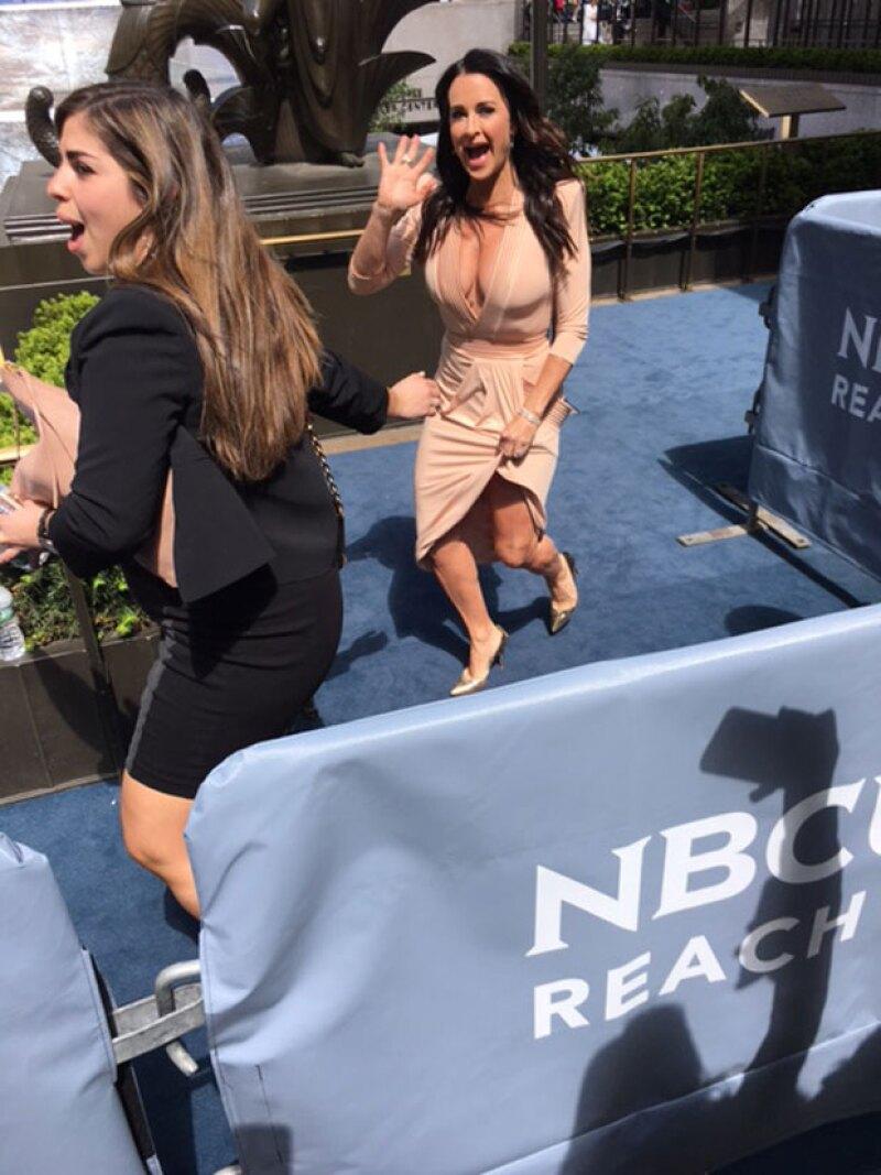 Desde Alicia Keys y Mariah Carey hasta Kyle Richards, asisitieron a la NBC Universal upfronts donde se dio a conocer la nueva programación del canal Telemundo.