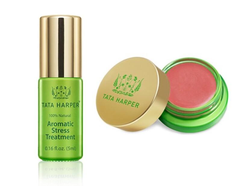 Los aceites aromaterápicos son un best seller. También encontrarás blush, y lipsticks en Tata Harper.
