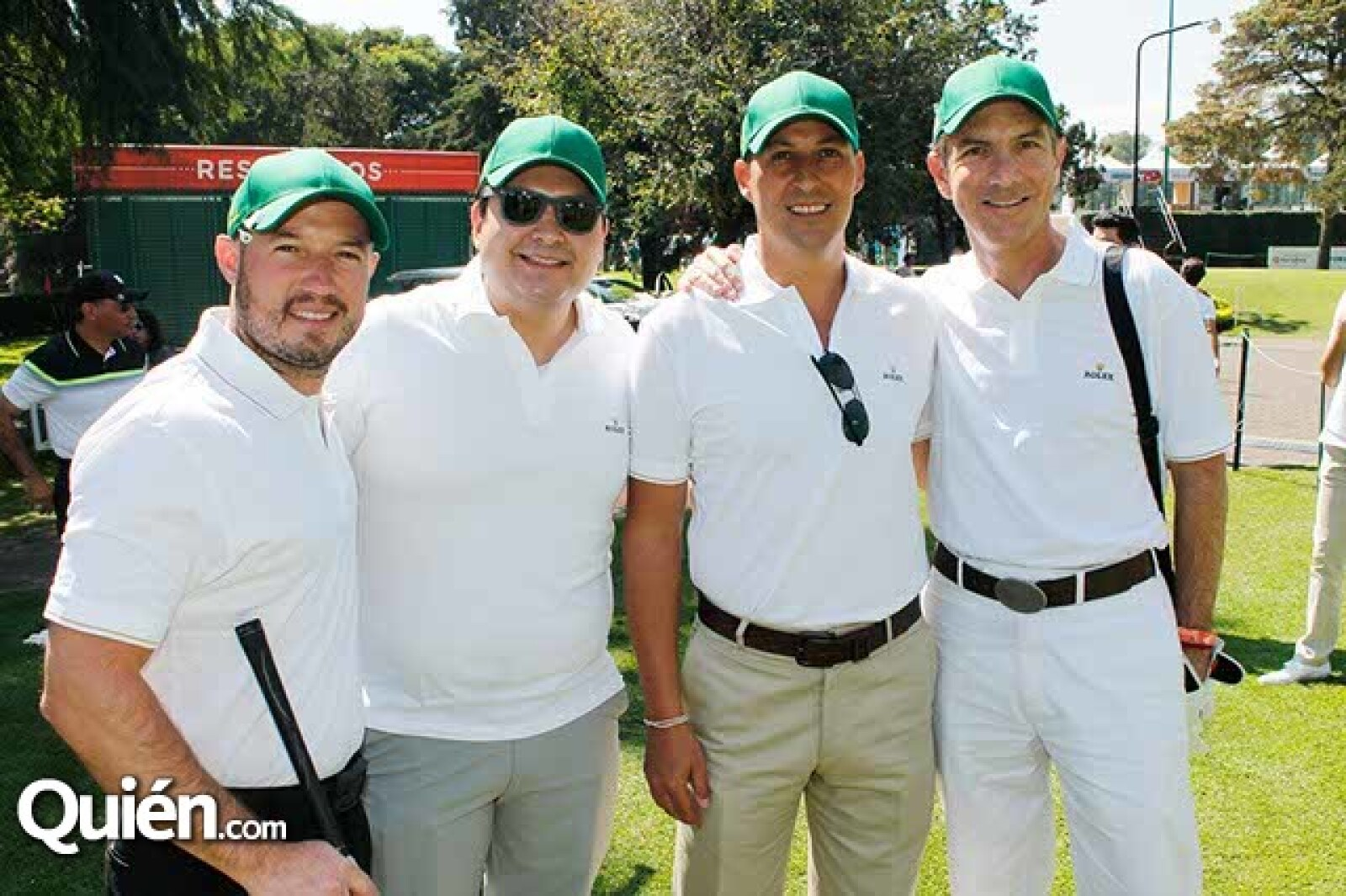 Renato Sandoval,Alberto Vega,Max Linares y Sergio Stern