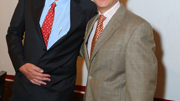 Rodrigo Murray y Adolfo Alaniz