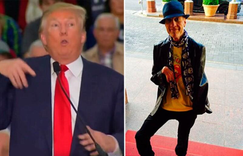 El candidato republicano imitó los movimientos y la voz de Serge Kovaleski, de The New York Times, quien padece artrogriposis y tiene limitada movilidad en sus brazos.