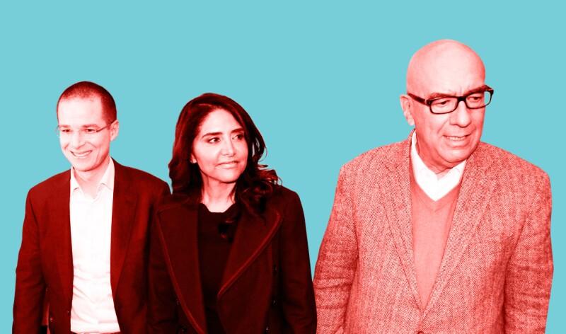 Anaya, Barrales y Delgado, los artífices de Por México al Frente.